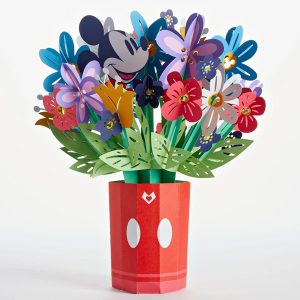 Lovepop Disney Mickey Mouse Colorful Blooms 3D Pop Up Card