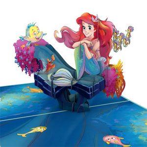 Lovepop Disney The Little Mermaid 3D Pop Up Card