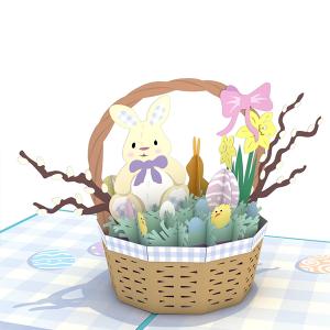 Lovepop Easter Basket 3D Pop Up Card