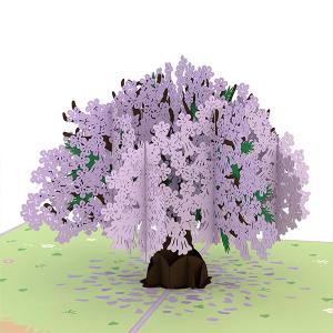 Lovepop Jacaranda Tree 3D Pop Up Card