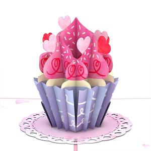 Lovepop Love Cupcake 3D Pop Up Card