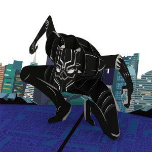 Lovepop Marvel Black Panther 3D Pop Up Card