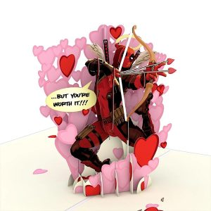 Lovepop Marvel Deadpool Love Hurts 3D Pop Up Card