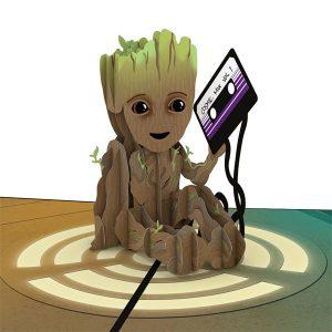 Lovepop Marvel I Am Groot 3D Pop Up Card