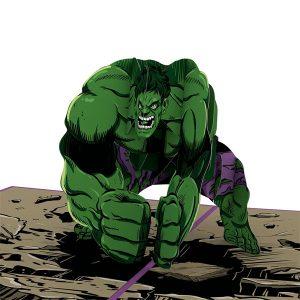 Lovepop Marvel Incredible Hulk Dad 3D Pop Up Card