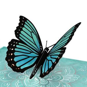 Lovepop Mother's Blue Morpho 3D Pop Up Card