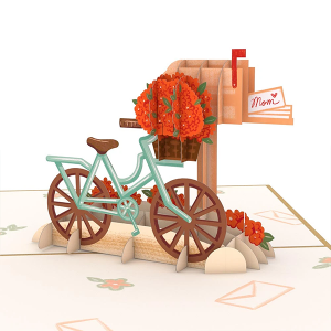Lovepop Mother's Day Bicycle 3D Pop Up Card