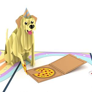 Lovepop Party Dog 3D Pop Up Card