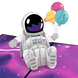 Lovepop Space Birthday 3D Pop Up Card