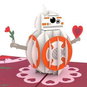 Lovepop Star Wars BB-8 Mine 3D Pop Up Card