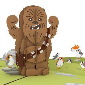 Lovepop Star Wars Chewbacca RARRRGGHH 3D Pop Up Card