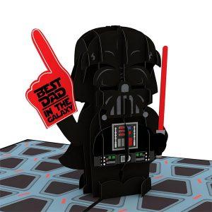 Lovepop Star Wars Darth Vader Best Dad 3D Pop Up Card