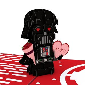 Lovepop Star Wars Darth Vader Valentine 3D Pop Up Card