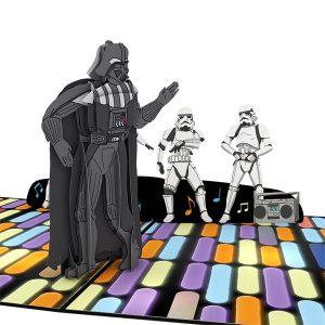 Lovepop Star Wars Death Star Disco Birthday 3D Pop Up Card