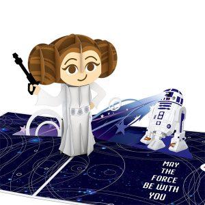 Lovepop Star Wars Princess Leia Birthday 3D Pop Up Card