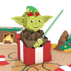 Lovepop Star Wars Yoda Present 3D Pop Up Card
