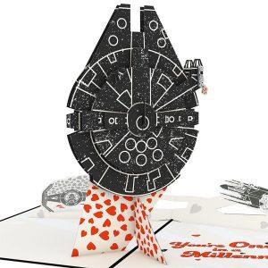 Lovepop Star Wars You're One In A Millennium 3D Pop Up Card
