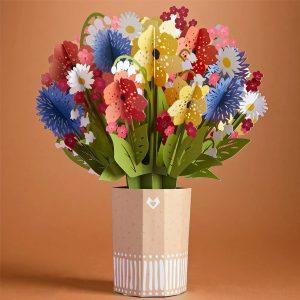 Lovepop Wildflower Bouquet 3D Pop Up Card