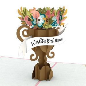 Lovepop World's Best Mom 3D Pop Up Card