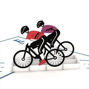 Hyegraph Invitations Lovepop Cyclist 3D Pop Up Card