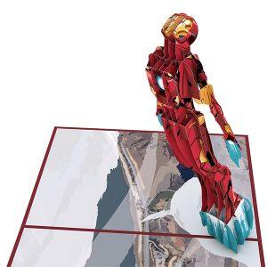 Hyegraph Invitations Lovepop Marvel Iron Man 3D Pop Up Card