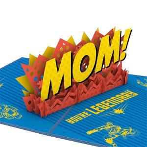 Lovepop Marvel Mother's Day Legendary Mom 3D Pop Up Card
