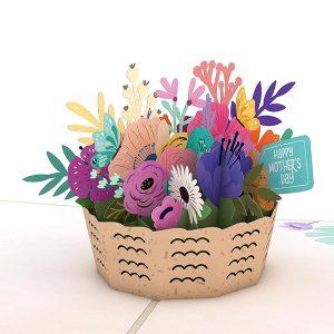 Lovepop Mother's Day Basket 3D Pop Up Card