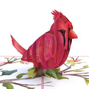 Lovepop Mother's Day Cardinal 3D Pop UP Card