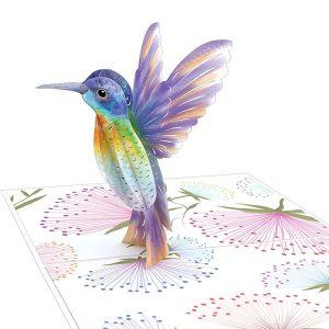 Lovepop Mother's Day Hummingbird 3D Pop Up Card
