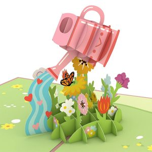 Lovepop Mother's Day Watering Can 3D Pop Up Card