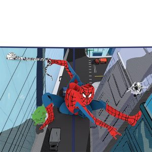 Hyegraph Invitations Lovepop Marvel Spider-Man 3D Pop Up Card