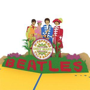 Hyegraph Invitations Lovepop The Beatles Sgt. Pepper's 3D Pop Up Card