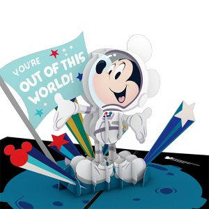Lovepop Disney Mickey Mouse Out of this World Dad 3D Pop Up Card