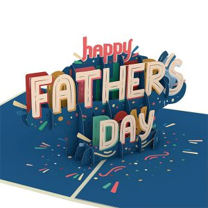Lovepop Happy Father's Day 3D Pop Up Card