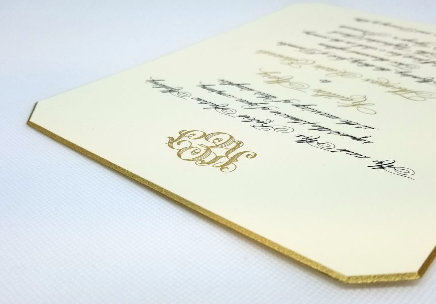 Crane & Co. Dover Wedding Invitation Suite