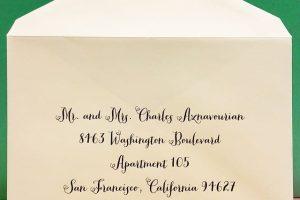 Wedding Envelopes Guest Addressing