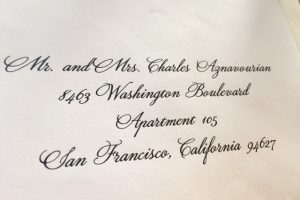 Calligraphy for Envelopes